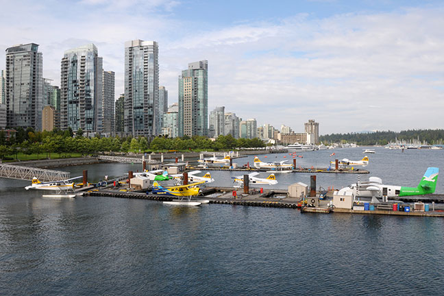 vịnh vancouver harbour - vancouver