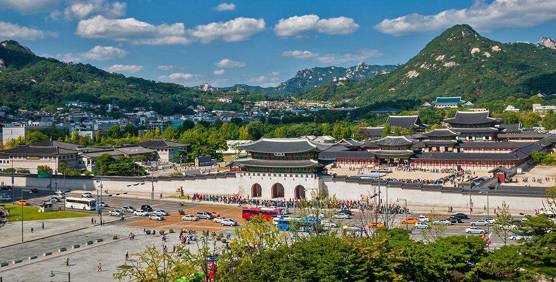 Khám phá cung điện Gyeongbokgung