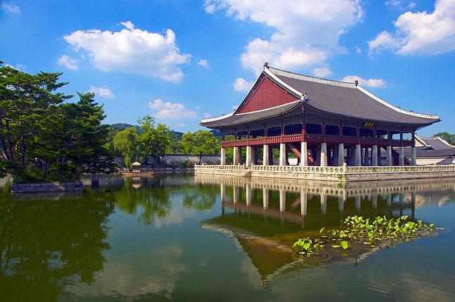 khánh hội lâu - khu vực đẹp nhất tronggyeongbokgung