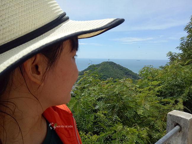 quan cảnh nhìn từ ngọn hải đăng vũng tàu rất đẹp