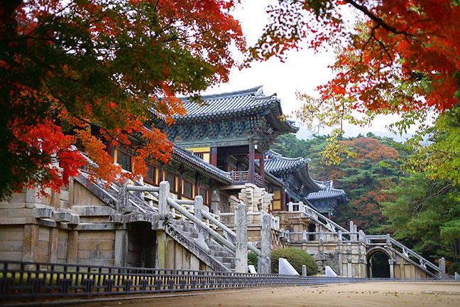 chùa bulguksa ngàn tuổi