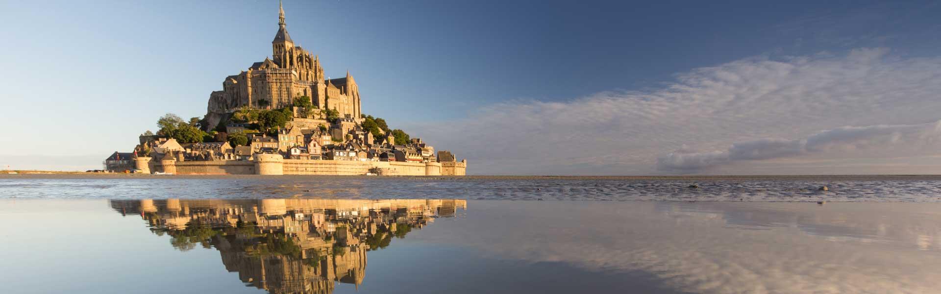 Mont Saint Michel – Lâu đài cổ kính nhất nước Pháp