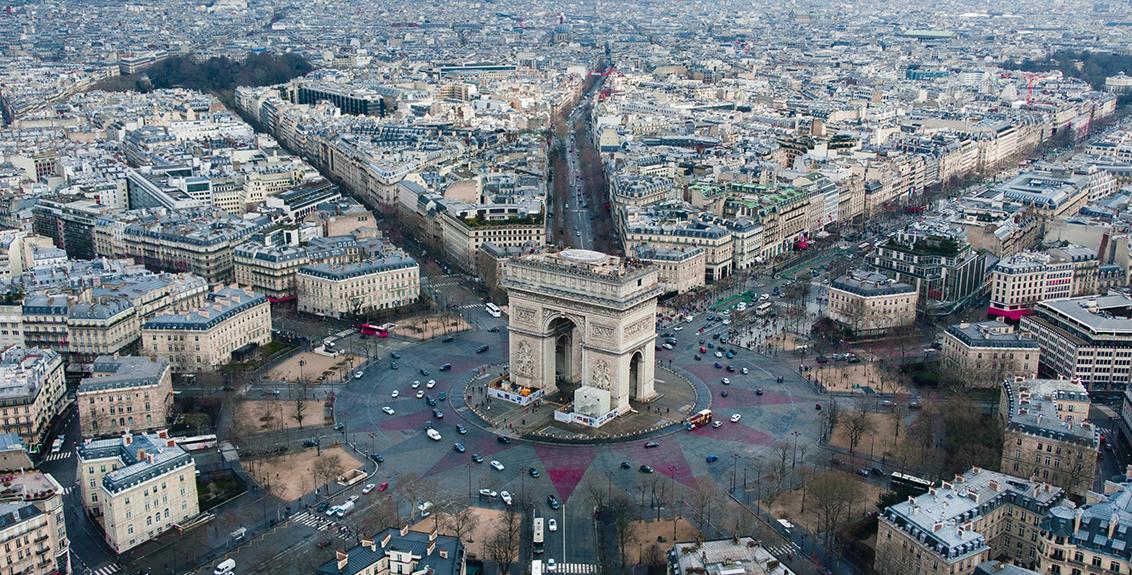 Khám phá Khải Hoàn Môn Paris