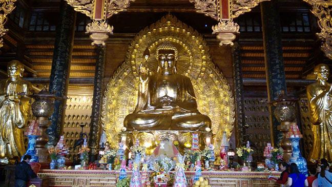 tượng Phật Tổ chùa Bái Đính