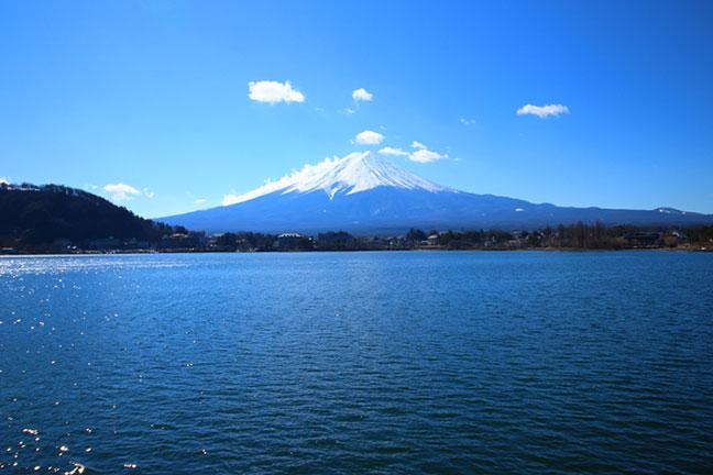 vẻ đẹp hồ kawaguchi