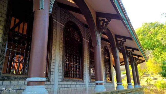 Kiến trúc chánh điện chùa Khỉ
