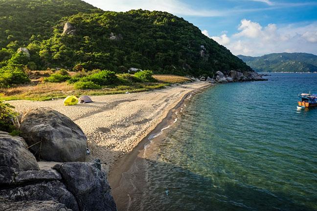vẻ đẹp đảo hòn lớn