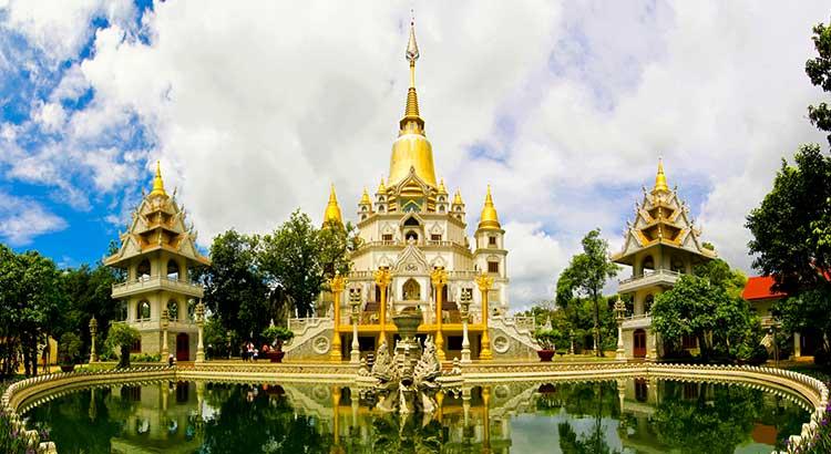 Viếng thăm chùa Bửu Long quận 9 đẹp ngỡ ngàn