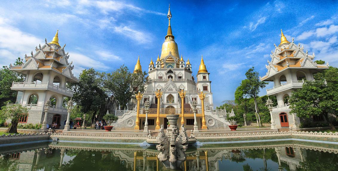 Video toàn cảnh chùa Bửu Long quận 9